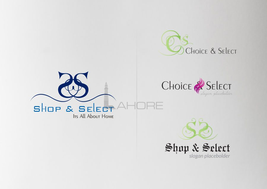 Shop and Select Logo Options