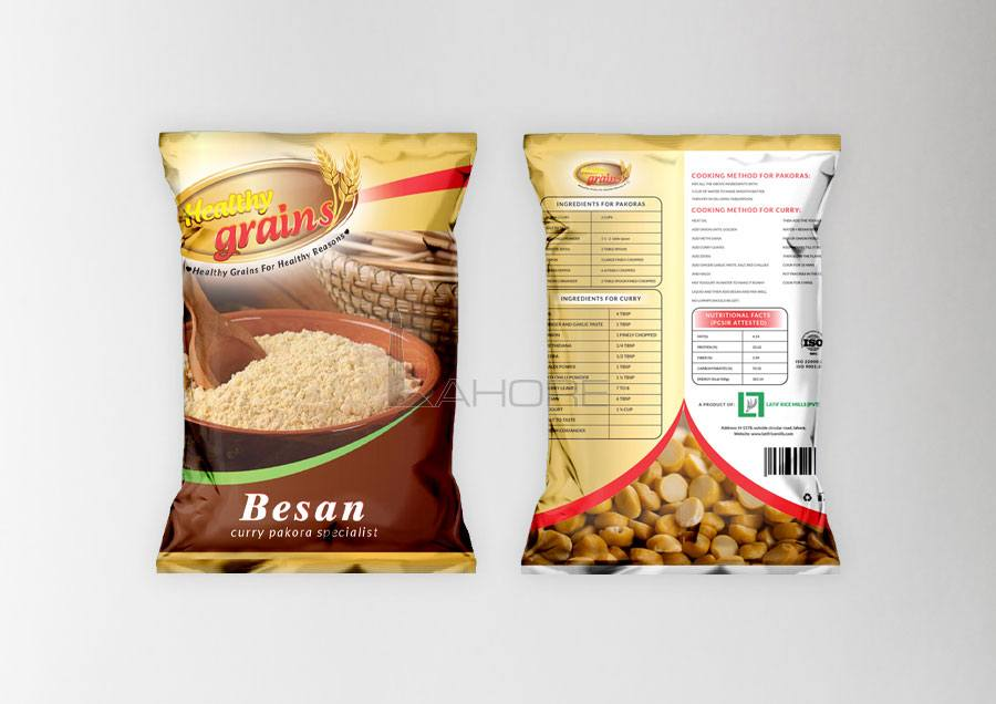 Healthy Grain Packaging Design