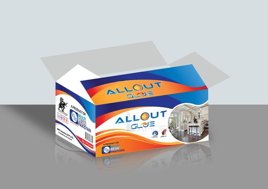Professional Colorful Carton Label Design