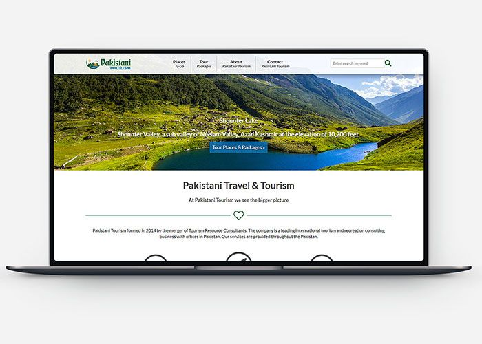 Pakistani Tourism Design