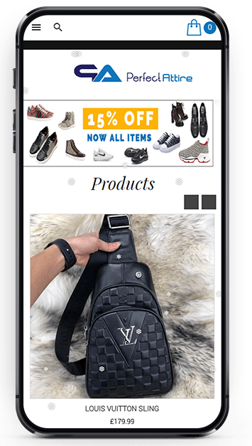 Mobile-Friendly E-commerce Store Design and Development