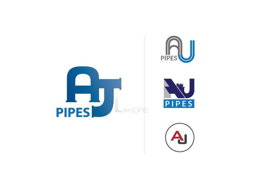 HDPE | AJ Pipes Logo Designs