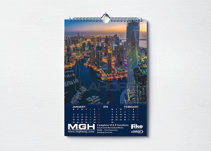 MGH Calendar Design  Design