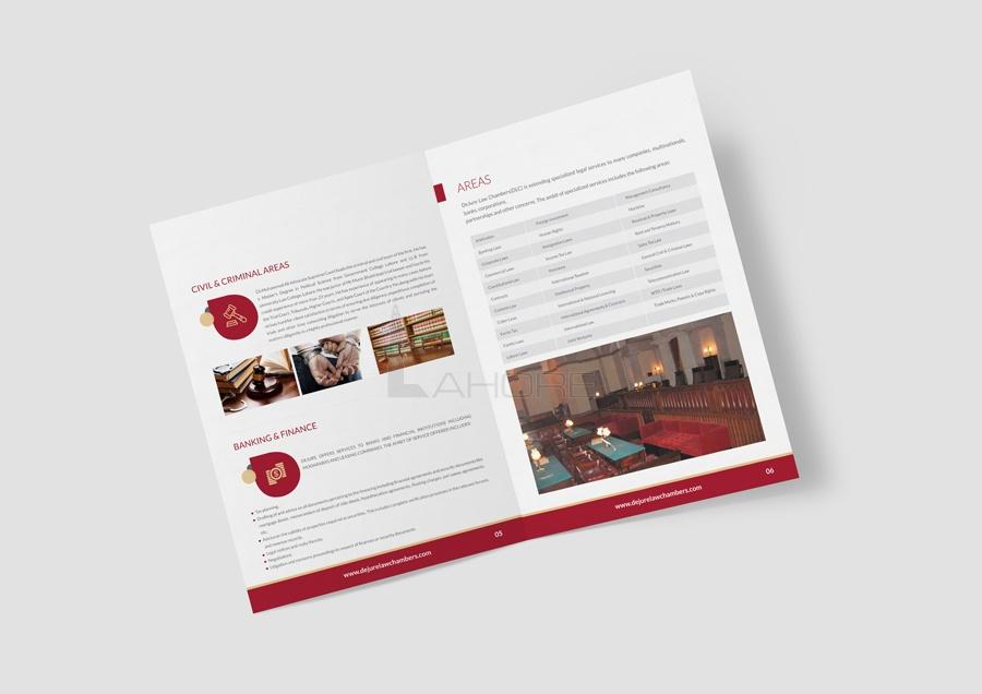 Professional Law Chamber Profile Design
