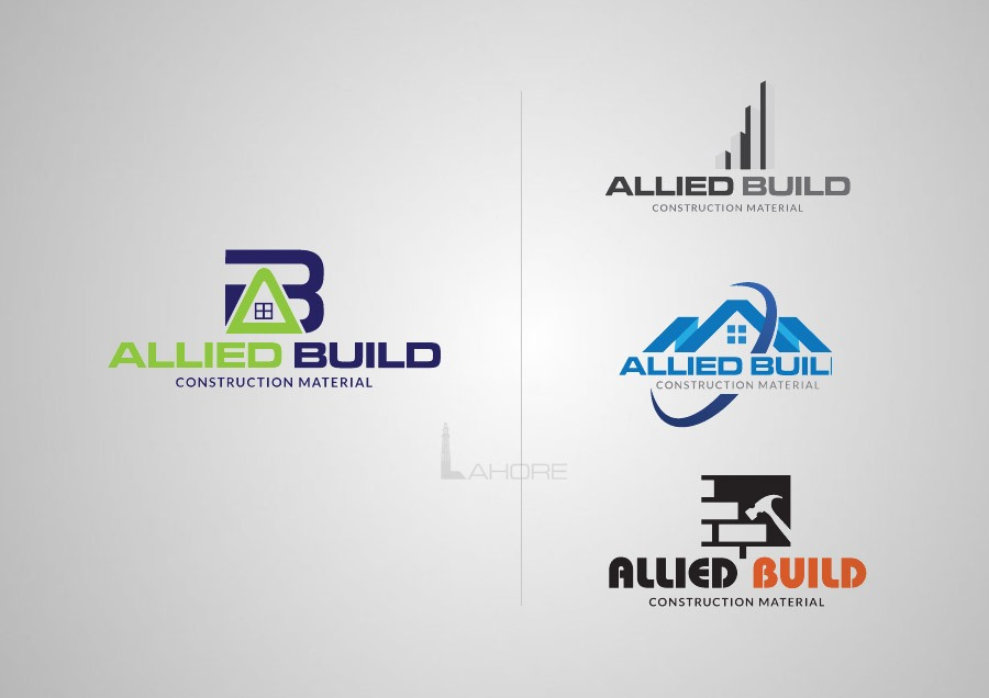 Allied Build Realtor Logo Design