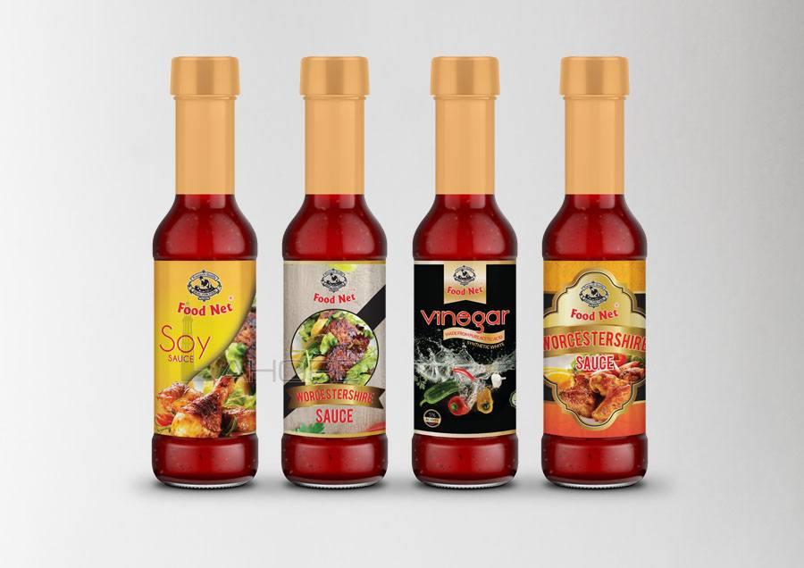 Cornflour Packaging Design Option 1