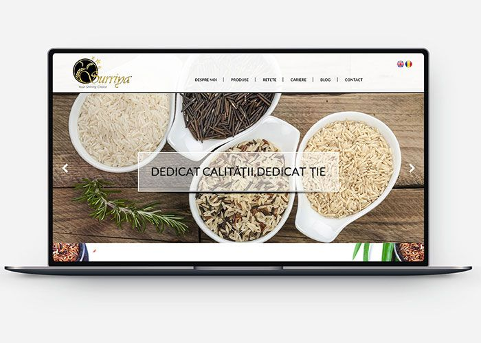Rice Mills Website Design and Development Design