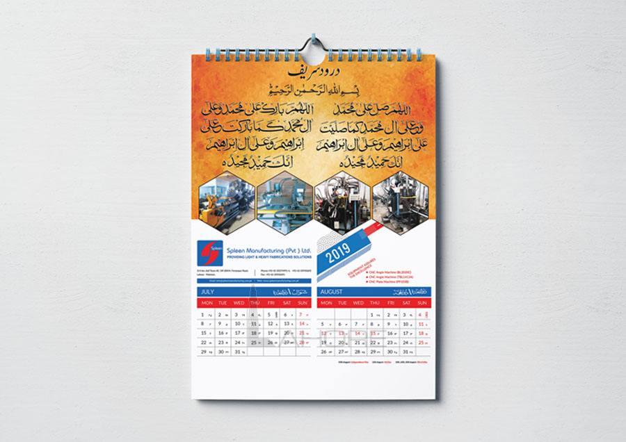 Calendar Design Option 4