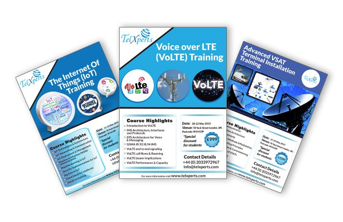 Telxperts Flyer Designs Design