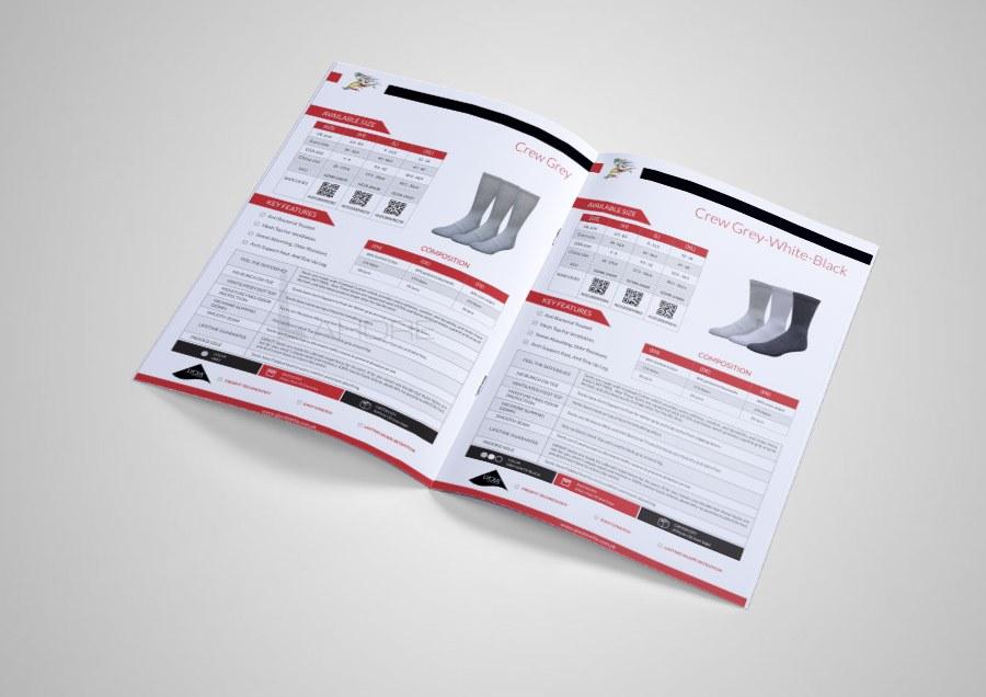 Ajwa Textile Catalog Cover design