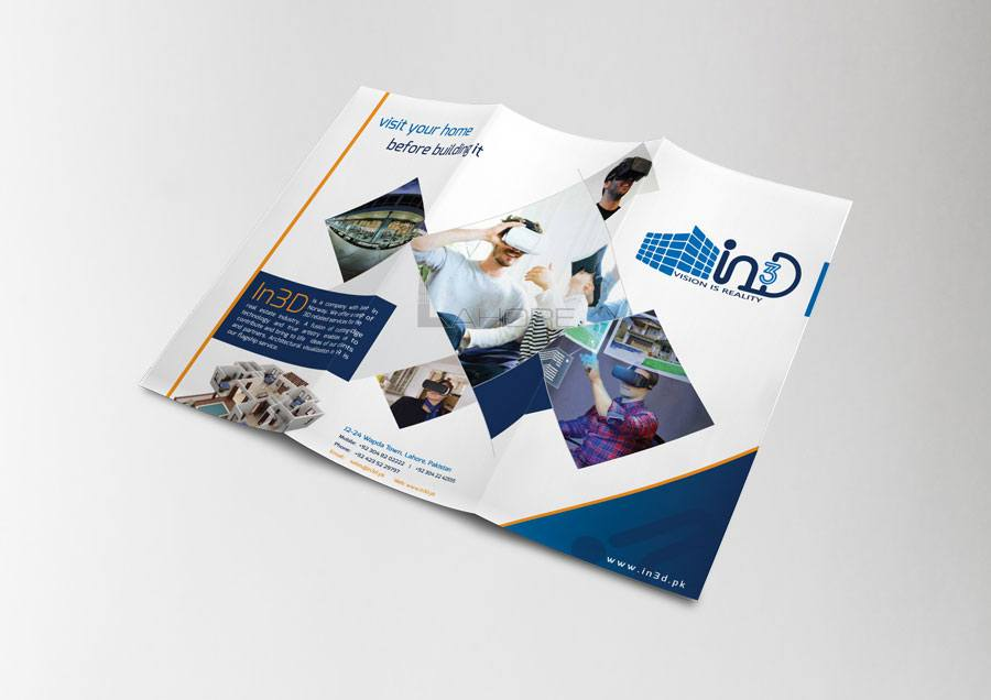 In3D Brochure Design