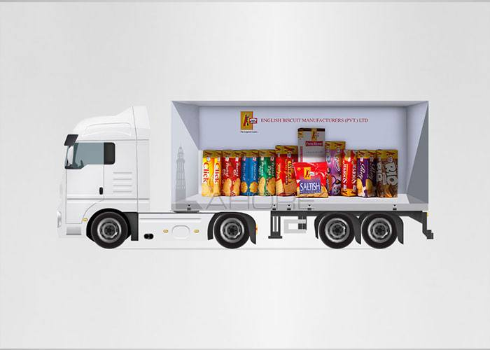 Business Profile and Truck Branding Design