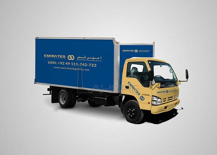 Emirates Logistics Pakistan Design