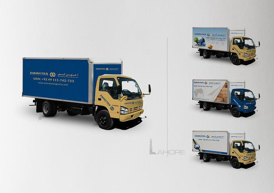 Emirates Truck Branding
