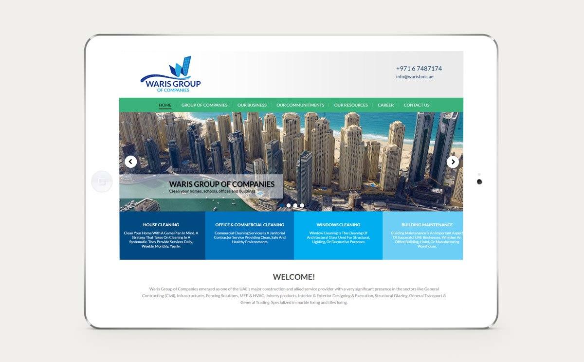 Waris Group of Companies Design