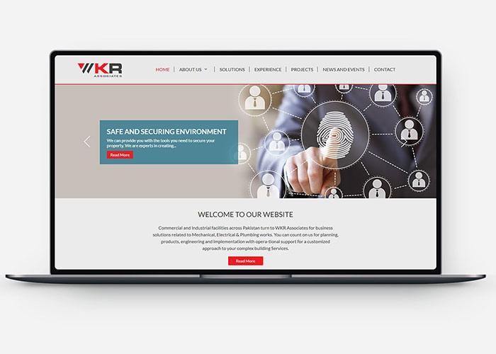 Website Design & Development for Wkr Associates Design