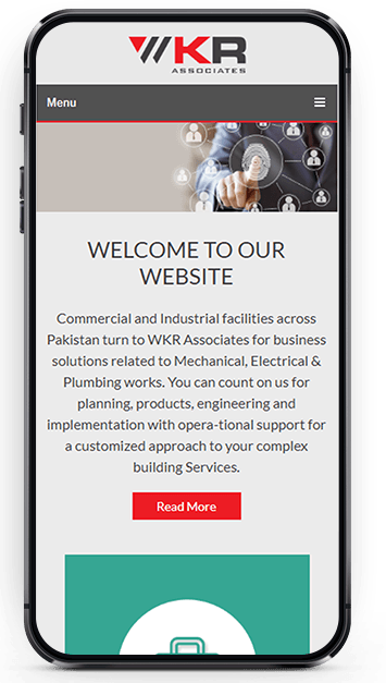 Responsive and Informative Layout Design for Website