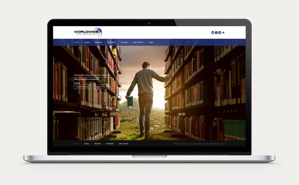 Worldwide virtual Education Group Design